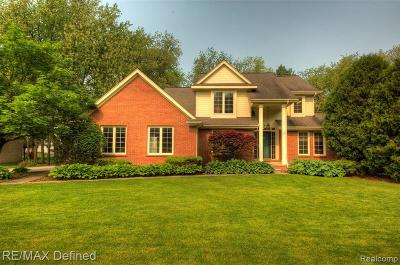 Clarkston Single Family Home For Sale: 6459 Southampton Dr