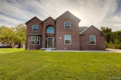 Canton Single Family Home For Sale: 47543 Ellery Ln