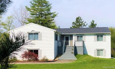 Lapeer Single Family Home For Sale: 3604 Meadow Ln