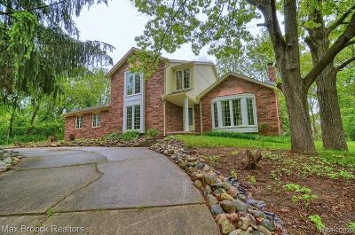 Bloomfield Hills Single Family Home For Sale: 941 Pine Thistle Ln