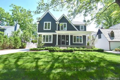 Birmingham Single Family Home For Sale: 452 Suffield Ave