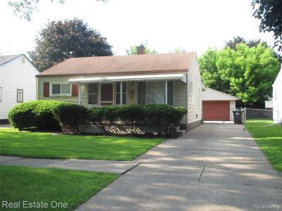 Taylor Single Family Home For Sale: 20539 Champaign St