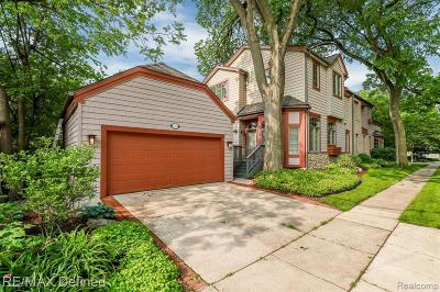 Birmingham Single Family Home For Sale: 1709 Washington Blvd
