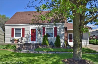 Berkley Single Family Home For Sale: 1760 Cummings Ave