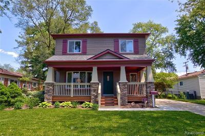 Berkley Single Family Home For Sale: 2970 Gardner Ave