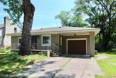 Farmington Hills Single Family Home For Sale: 21566 Waldron St