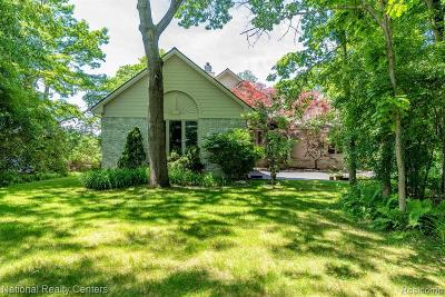 Clarkston Single Family Home For Sale: 9007 Stonehause Crt