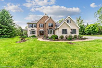 Northville Single Family Home For Sale: 53300 Hidden Meadow Ln