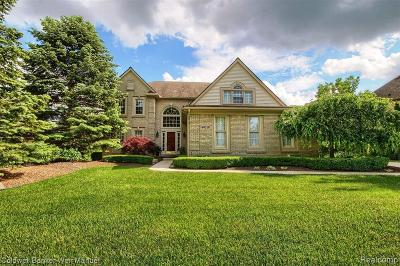 Plymouth Single Family Home For Sale: 49339 Quail Run Crt