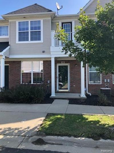 Sterling Heights Condo/Townhouse For Sale: 3895 Cherry Creek Ln