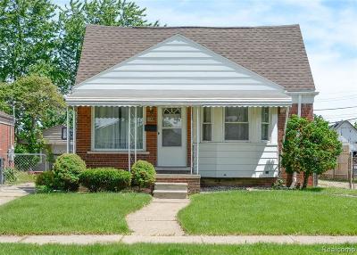 Allen Park Single Family Home For Sale: 5831 Elizabeth Crt