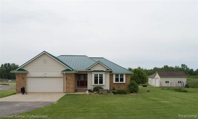 St. Clair Single Family Home For Sale: 13468 Tibbets Rd