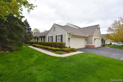 Bloomfield Hills Condo/Townhouse For Sale: 877 Tartan Trl