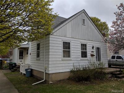 Taylor Single Family Home For Sale: 7501 Huron St