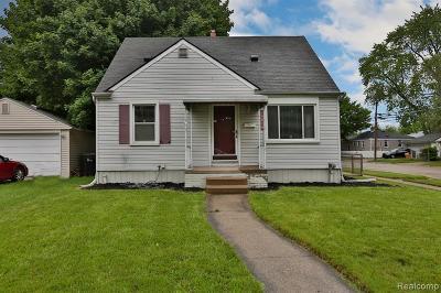 Allen Park Single Family Home For Sale: 14804 Keppen Ave