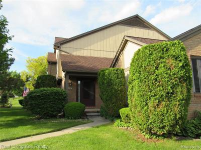 Rochester Hills Condo/Townhouse For Sale: 211 Meadow Lane Cir
