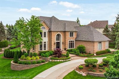 Oakland Twp Single Family Home For Sale: 5770 Kirkridge Trl