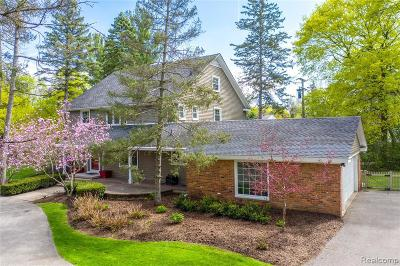 Birmingham Single Family Home For Sale: 1331 W Maple Rd
