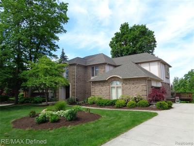 Troy Single Family Home For Sale: 4555 Riverchase Dr