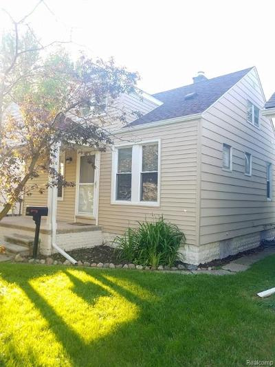 Lincoln Park Single Family Home For Sale: 1520 Gregory