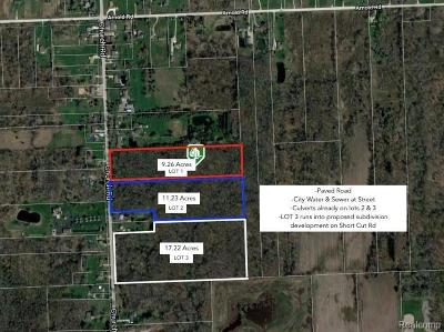 Residential Lots & Land For Sale: Church Lot #3 Rd