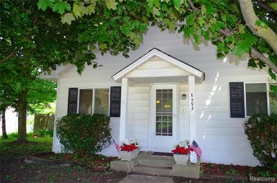 Lapeer Single Family Home For Sale: 5452 Hammond Rd