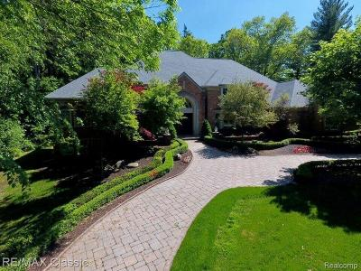 Bloomfield Hills Single Family Home For Sale: 15 Pine Gate Dr