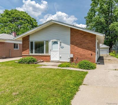 Dearborn Heights Single Family Home For Sale: 25702 Eton Ave