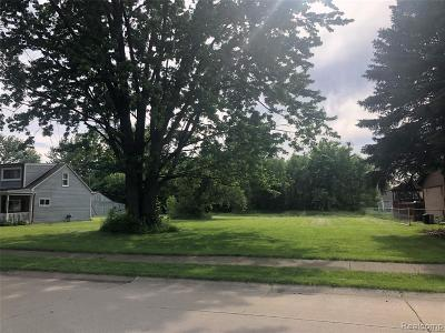 Sterling Heights Residential Lots & Land For Sale: 37451 St Joseph St