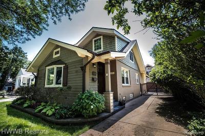 Birmingham Single Family Home For Sale: 1028 Chestnut St