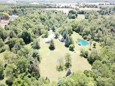 Lapeer Single Family Home For Sale: 5641 Reynolds Rd
