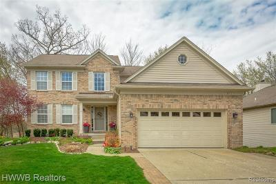 Lake Orion Single Family Home For Sale: 3312 Hickory Dr
