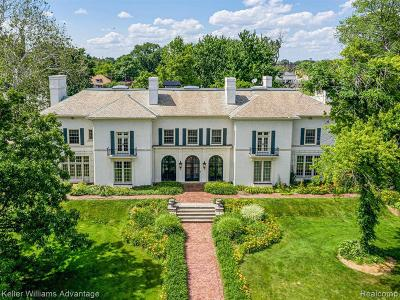 Detroit Single Family Home For Sale: 70 W Boston Blvd