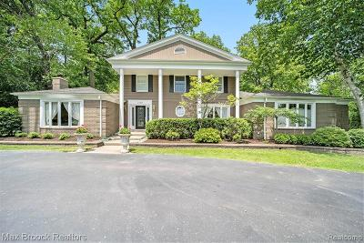 Bloomfield Hills Single Family Home For Sale: 3720 Lincoln Rd