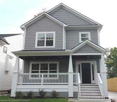 Royal Oak Single Family Home For Sale: 129 S Wilson Ave