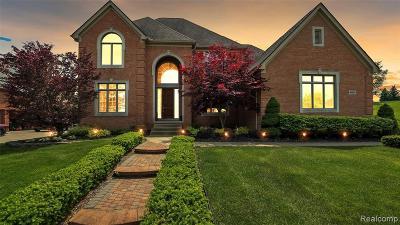 Northville Single Family Home For Sale: 49200 Parkshore Crt