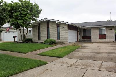 Trenton Single Family Home For Sale: 4824 Hillcrest Rd