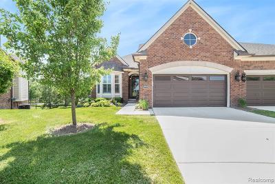 Clinton Township Condo/Townhouse For Sale: 40605 Azalea Dr