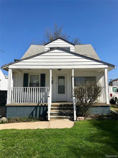 Hazel Park Single Family Home For Sale: 46 W Sonoma Ave