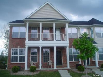 Sterling Heights Condo/Townhouse For Sale: 3811 Cherry Creek Ln