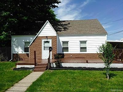 Westland Single Family Home For Sale: 1424 S Hubbard St