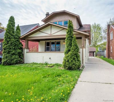Wayne Single Family Home For Sale: 21523 Military St