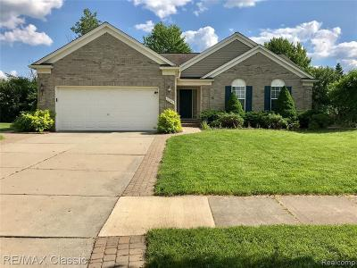 Wayne Single Family Home For Sale: 47291 Fairlawn Crt
