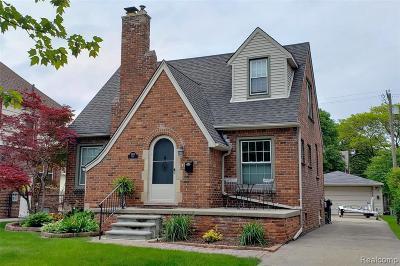 Trenton Single Family Home For Sale: 2537 Lenox St