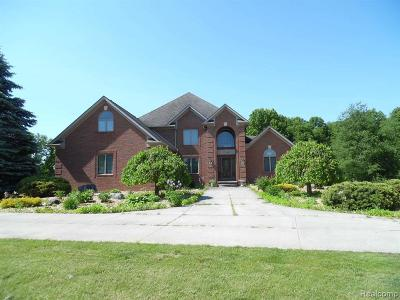 Lapeer Single Family Home For Sale: 1746 Rooster Trl