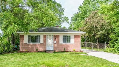Dearborn Single Family Home For Sale: 5402 Williams St