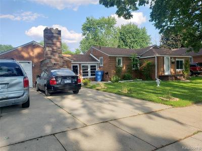 Dearborn Single Family Home For Sale: 8320 Nightingale St