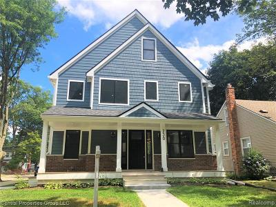 Royal Oak Single Family Home For Sale: 230 N Connecticut Ave