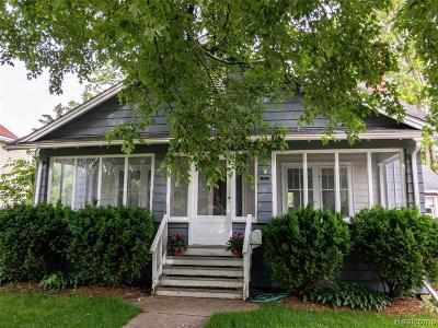 Lake Orion Single Family Home For Sale: 134 N Anderson St