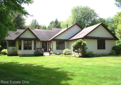 Lapeer Single Family Home For Sale: 2380 Byers Rd